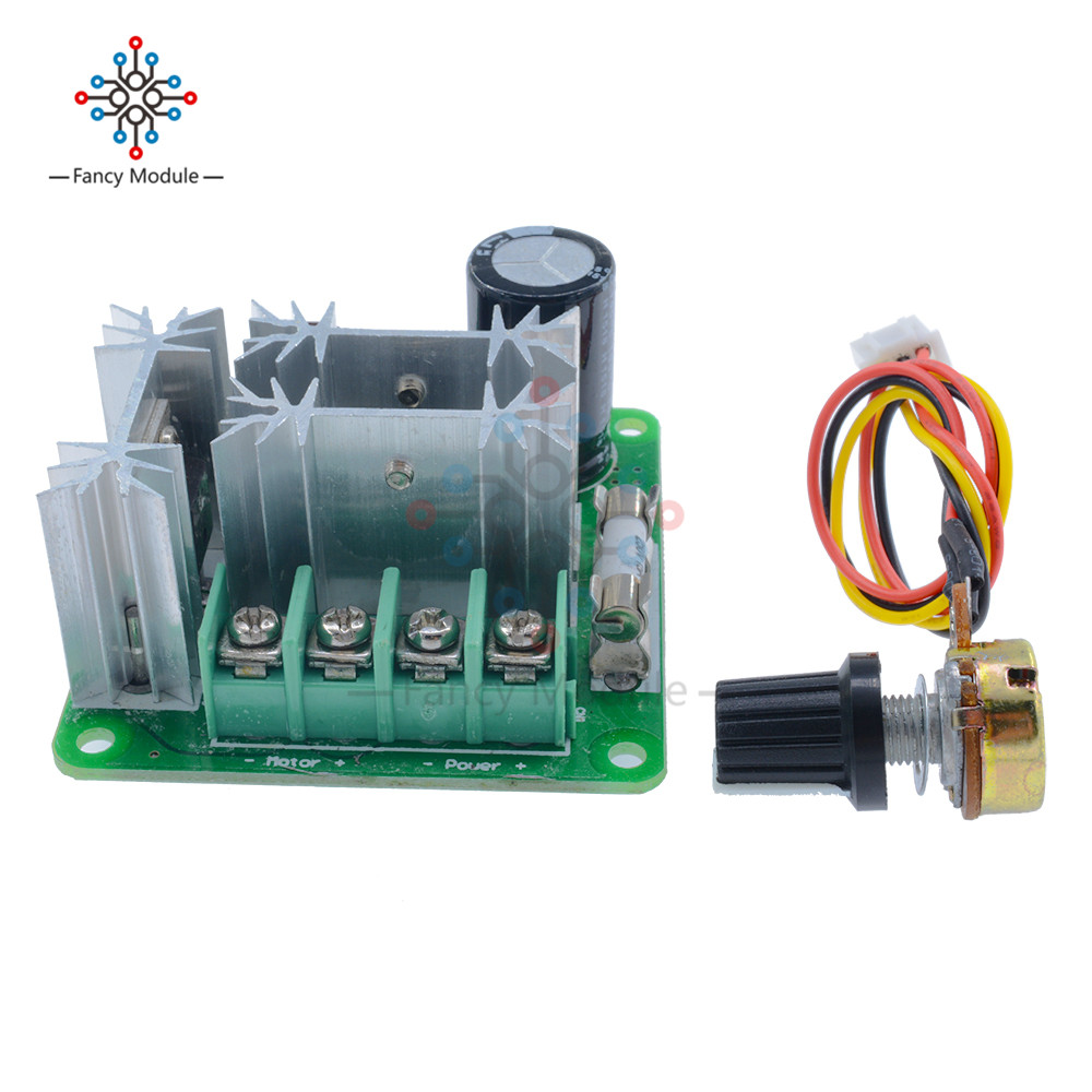 DC6-90V 15A Pulse Width PWM HHO RC Motor Speed Controller Module Switch