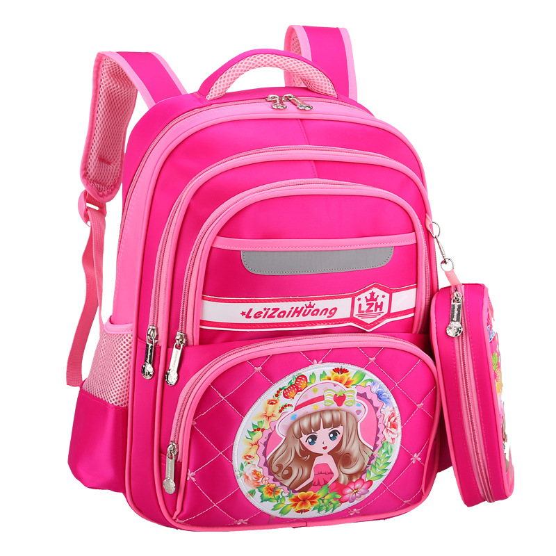 Children School Bags Kids Orthopedic Schoolbags Primary School Backpacks For Boys Girls Children Backpacks Mochila Infantil Zip