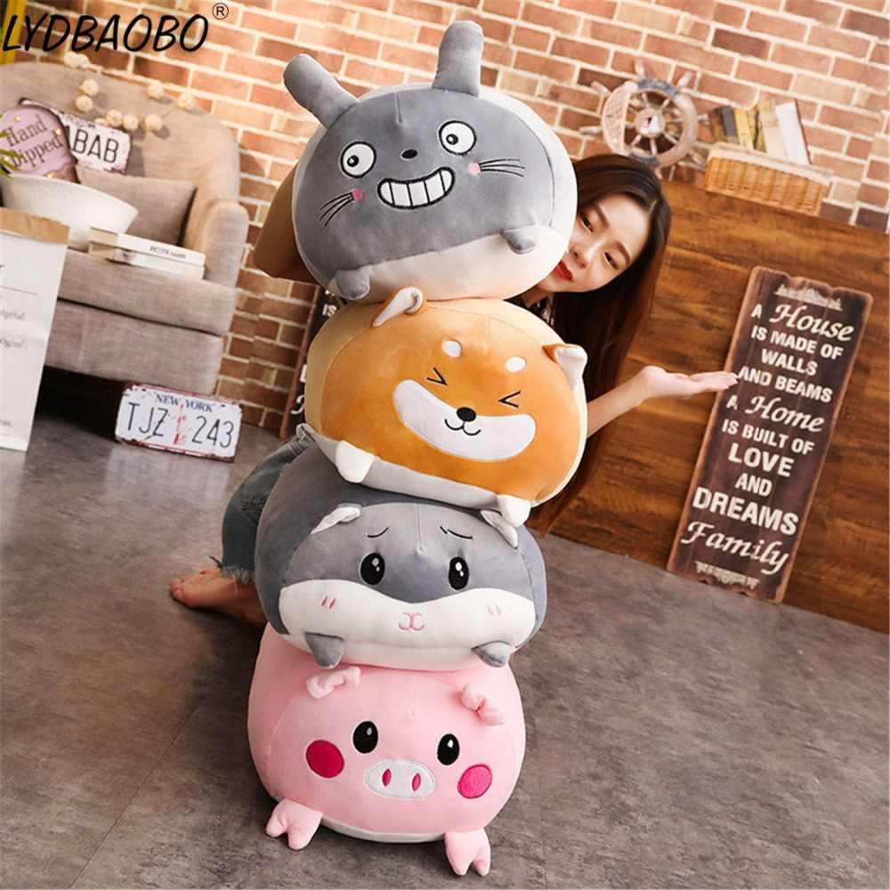 28 Cm Sudut Bio Bantal Animasi Jepang Boneka Bayi Lucu Kartun Totoro Corgi Animal Doll Mainan Anak Valentine Hadiah Stuffed Plush Hewan Aliexpress