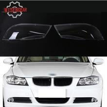 Прозрачный Пластик фары линзы Корпус фар крышка лампа для сборки BMW E90 седан E91 Touring 320i 328i 325i 335i P434