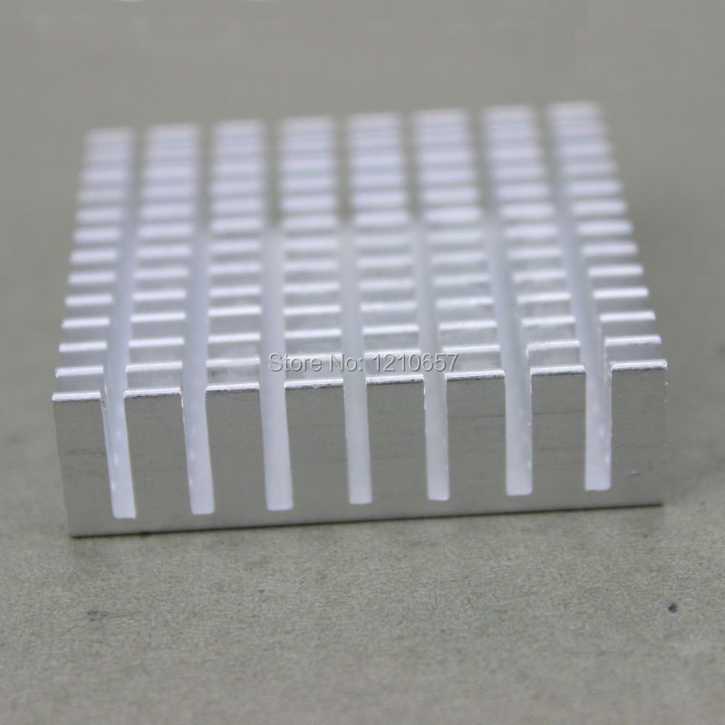 1000 Pieces lot  Heat sink  Aluminum Heatsink Cooler For Led  Light Amplifier Peltier 40 x 40 x 10mm 40mm интегральная микросхема stime 100pcs lot 3w 1w 5w led heat sink
