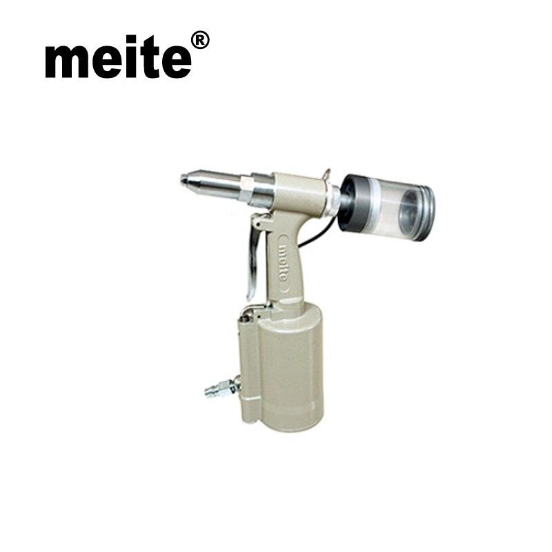 цена на Meite MT-311MV 2.4-4.8mm Pneumatic Rivets Gun Air Gun Riveting Tools Pneumatic Air Tools Rivet Nut Gun Riveters Setting Kits