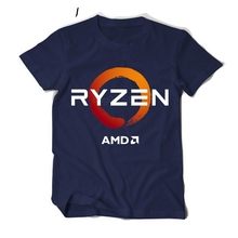 ПК процессор Uprocessor AMD RYZEN футболка Программист-фанат футболки для девочек игровой camiseta компьютер ZEN периферийные устройства хлопок geek футболка