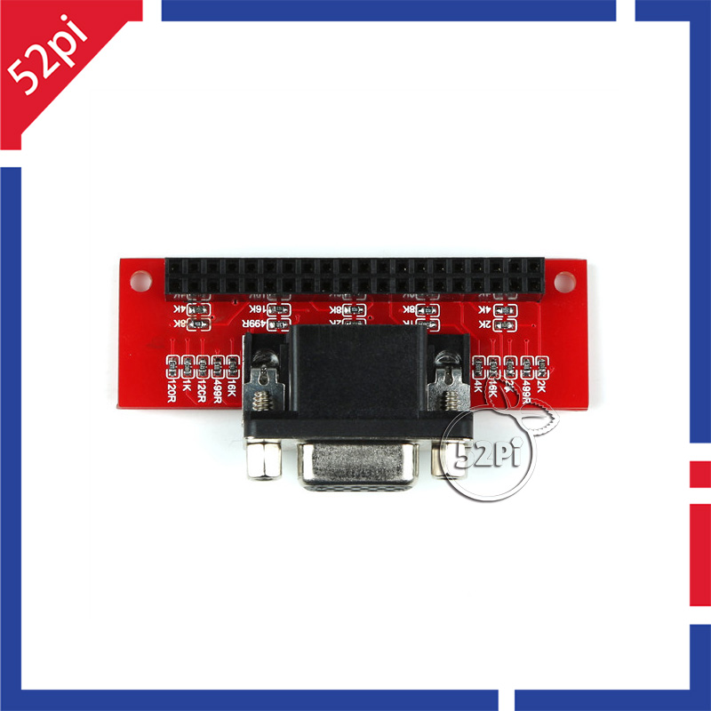 2016 VGA666 Adapter Board for Raspberry Pi 3 Model B- Pi 2- B+-A+