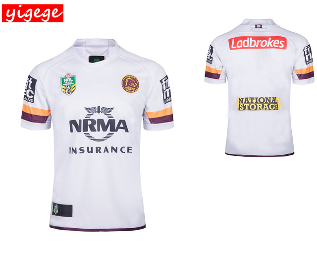 Australia 2018 Brisbane Broncos home away rugby Jerseys NRL National Rugby  League shirt nrl jersey s-3x e4debe54c