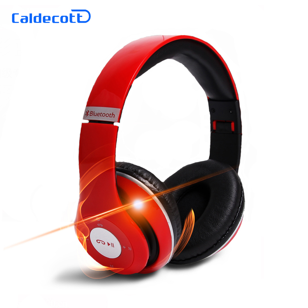 ФОТО Original Bluetooth Headphones Foldable Wireless Headsets Support TF Card/FM Radio/AUX Music Bass Stereo Auriculares with Mic