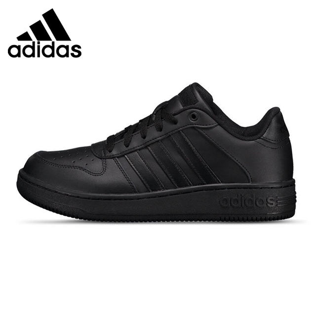 Original New Arrival Adidas NEO Men's Plain Skateboarding Shoes Sneakers