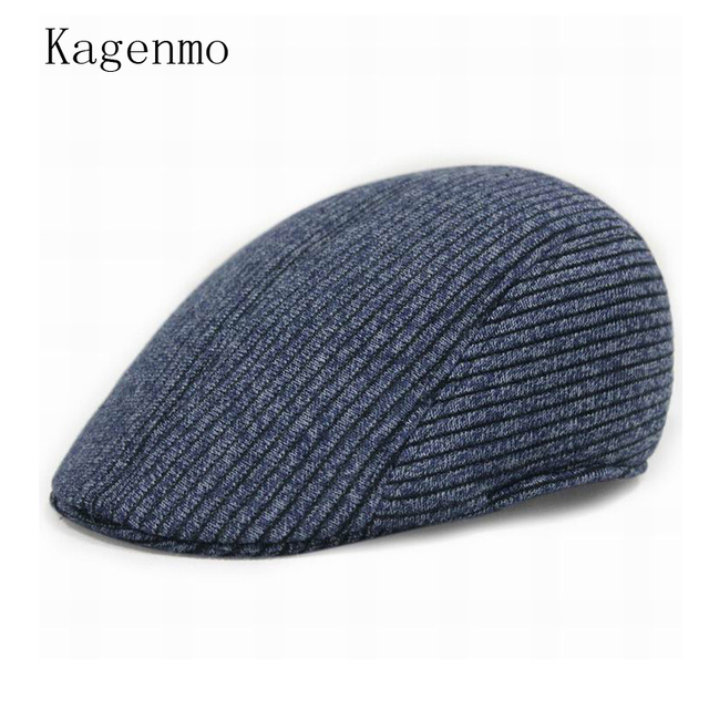 b97145e234680 Kagenmo cheap male Berets winter warm outside cap female fashion caps male  formalwear hat leisurely hats 3color 1pcs