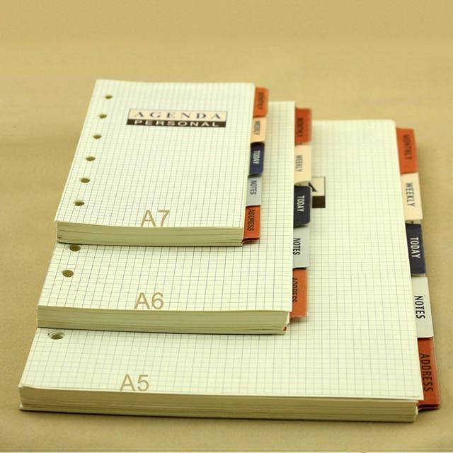 Agenda >> A5 A6 A7 Business Agenda Organizer Paper Time Management Schedule