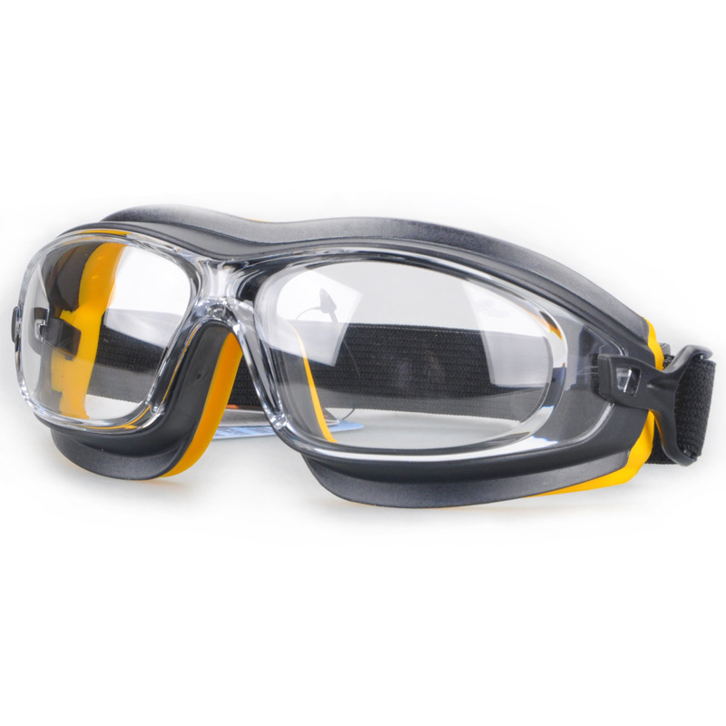 Safety Goggles Dust Wind Sandproof Shock Resistant Protective Goggles Anti Chemical Acid Spray Paint Splash Working Eyewear