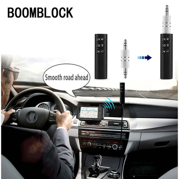 Car Bluetooth AUX 3.5mm Jack Bluetooth Receiver for BMW E39 E90 E60 E36 F30 F10 E34 E30 Mini Cooper Audi A4 B8 A3 A6 C6 Q5 A5 image