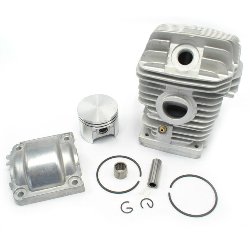 Cylinder Kit Piston Set with Rings Needle Bearing Engine Pan Cap for Stihl MS250 1123 020 1209 Replaces 38mm cylinder piston rings needle bearing kit for stihl ms180 ms 180 018 chainsaw