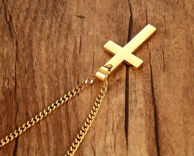 HTB1DJVIKVXXXXbuXXXXq6xXFXXXQ - Unisex Cross Pendant