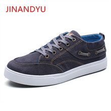 Mens Canvas Shoes for Men Fashion Spring Autumn Casual Breathable Youth Solid Color Lace Up Male