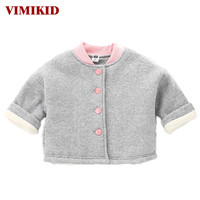VIMIKID Baby Girls Boys Clothing Snow Wear 2017 Autumn And Winter New Warm Long Sleeved Single