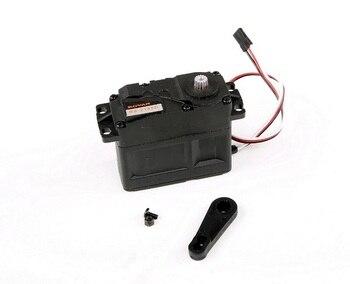 45KG Metal gear plastic shell digital steering arm for 1/5 hpi baja 5b 5sc 5t rc car parts