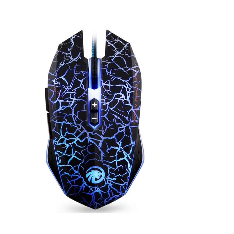 LED Optical gamer mouse for Computer Professional Wired USB Gaming Mouse Mice 7 Button 2500 DPI  PC Laptop Desktop free shipping