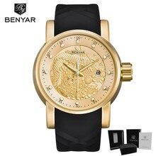 купить Mens luxury gold wristwatches male brand watches quartz man clocks waterproof fashion Business luminous calendar Reloj Hombre дешево