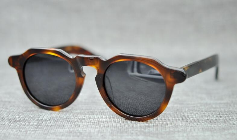 e92b843afc Aliexpress.com   Buy LKK UNISEX Hand made Japanese vintage polarized  sunglasses sunglasses fashion trend small face multilateral sunglasses from  Reliable ...