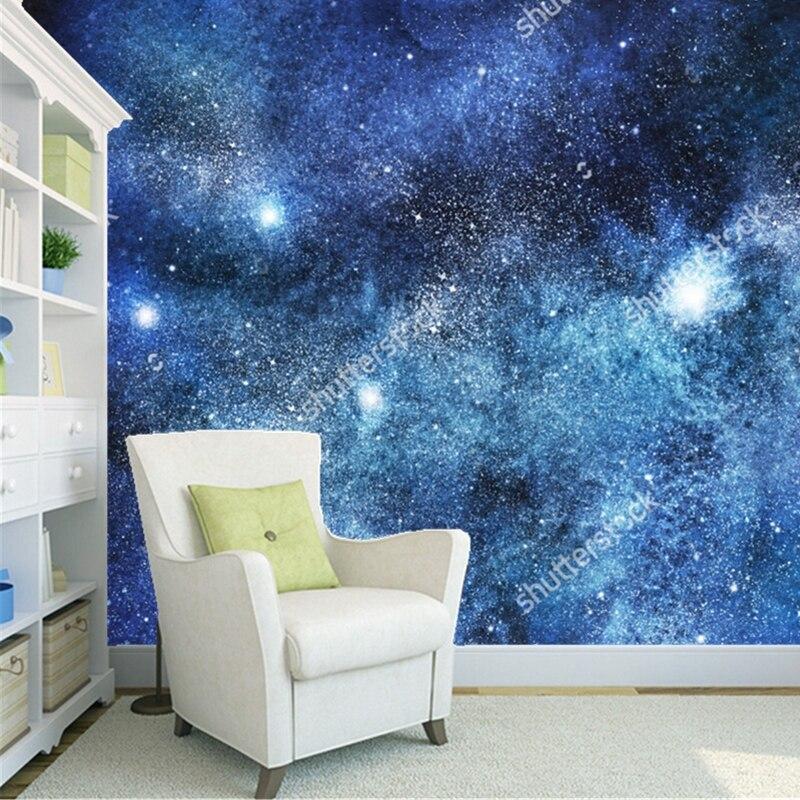 Cosmic tapete, sterne, nebula und galaxy, 3D moderne landschaft für ...