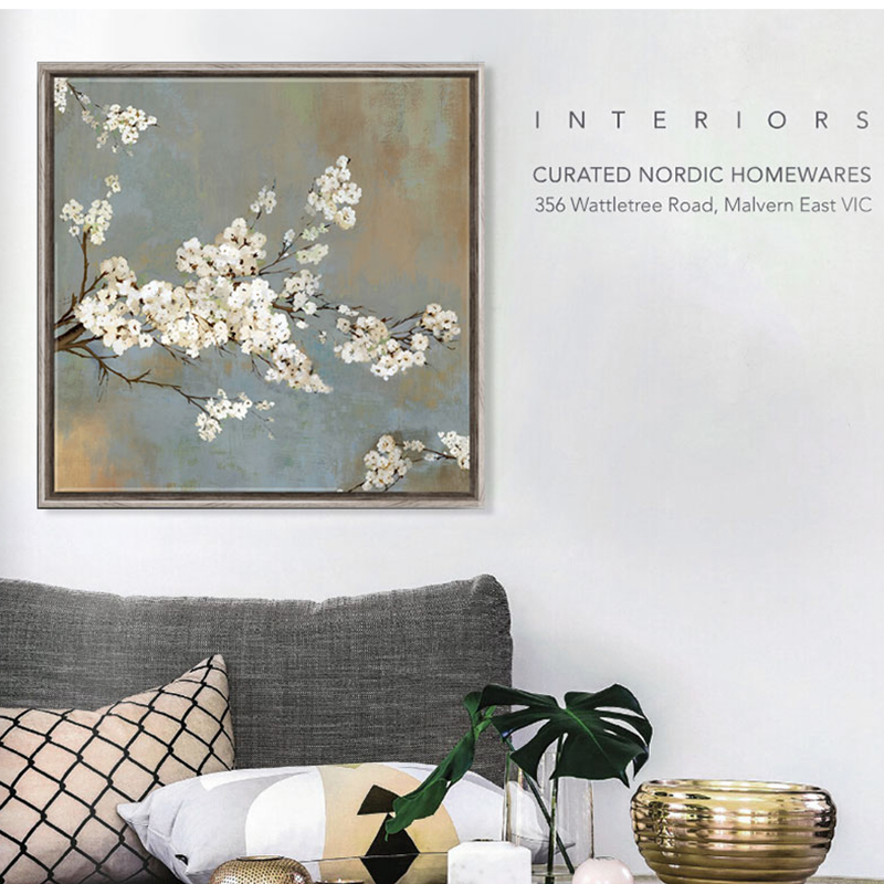 Aliexpress.com : Buy Almond White Floral Painting Vintage
