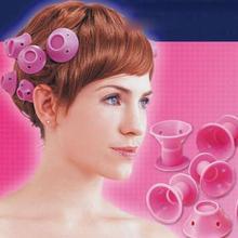 1pack(10pcs) hair curler Magic wavy roll hair style random soft bell  hair styling tools (B368)