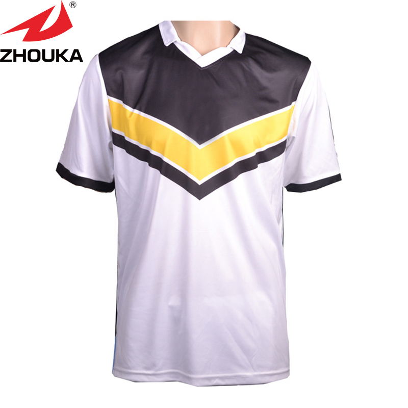 Sublimation printing soccer jersey,name,number,logo free printing on,make your team football jersey