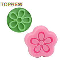 Cute DIY Little Flower Cake Molds Fondant Chocolate Silicone Mold Cake Tools Food-Grade Safe SGS Candy Moulds C1947(China)