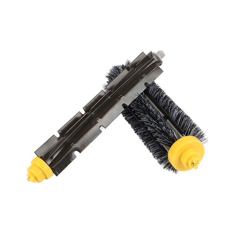 Poils Brosse Flexible Batteur Brosse Fit Pour iRobot Roomba 500 600 700 Série 550 650 660 760 770 780 790 Aspirateur pièces