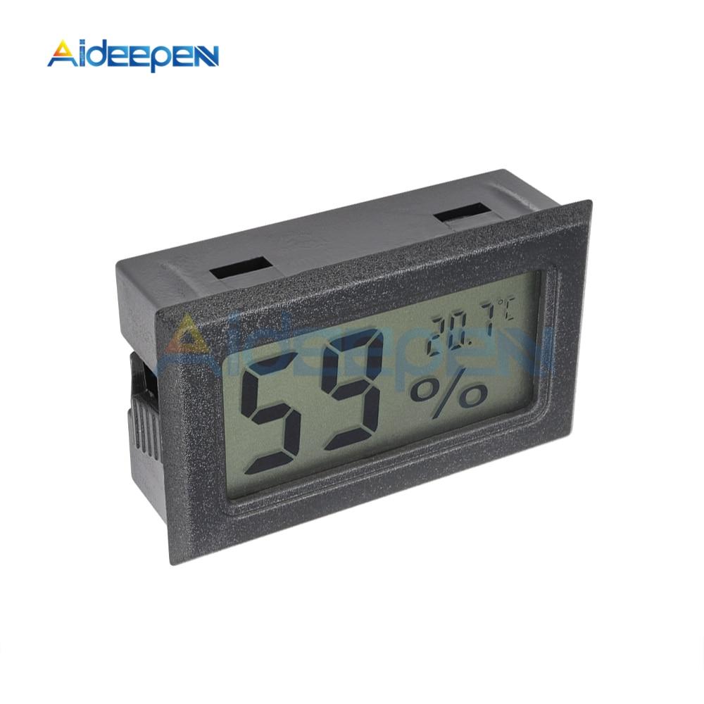 LCD Digital Thermometer Hygrometer for Freezer Refrigerator Fridge Temperature Sensor Humidity Meter Gauge Instruments Cable 17