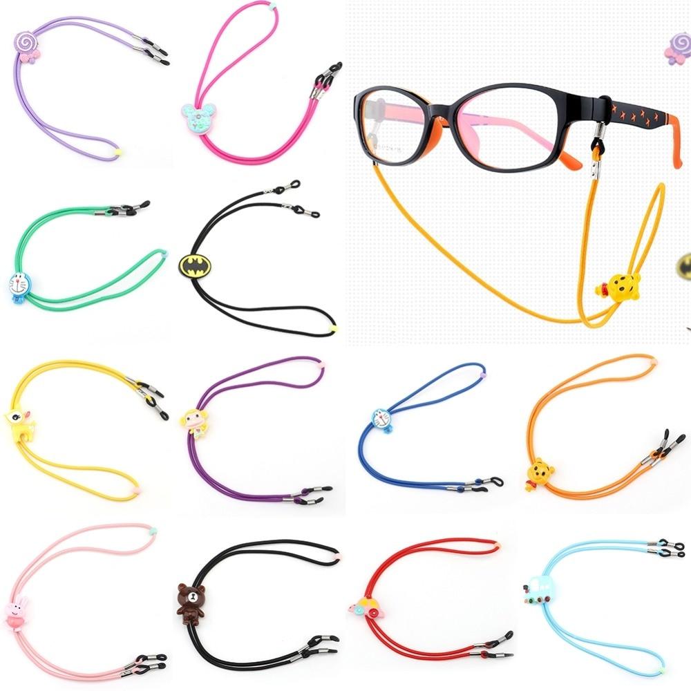 1PC Children Cartoon Nylon Cord Myopia Elastic Glasses Chain & Lanyards Sunglass Eyeglass Holder Glasses Neck String Strap