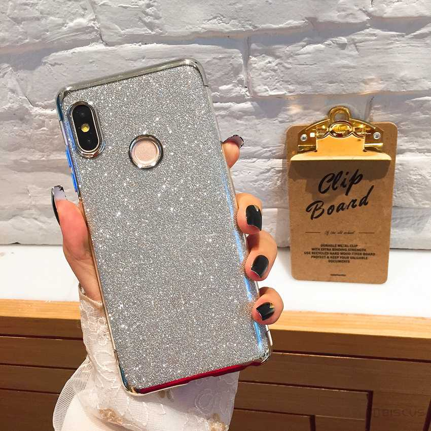 Bling Rubber Glitter Case for Huawei Y6 2019 Y7 Y5 Prime 2018 Y9 P30 P20 Lite Honor 20 Pro 10I 8S 8A 8C 8X Soft Silicone Case