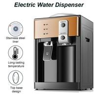 Electric Water Dispenser Desktop Drinking Fountain Cold & Hot Warm Water Cooler Heater Home Office Hostel Coffee Tea Bar Helper