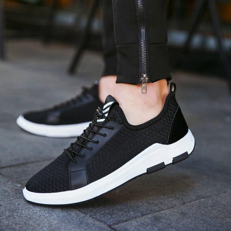 Fooraabo марка 2017 мужчины повседневная обувь весна лето узелок дышащий мода обувь мужчины холст обувь zapatos hombre корейский стиль