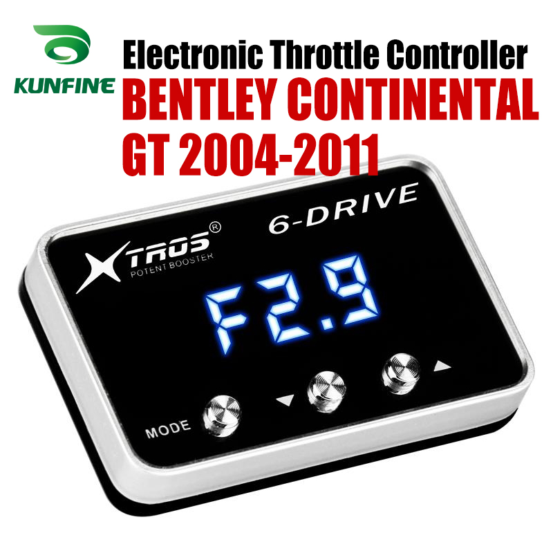 Car Electronic Throttle Controller Racing Accelerator Potent Booster For BENTLEY CONTINENTAL GT 2004 11 Tuning Parts Accessory Car Electronic Throttle Controller     - title=