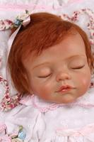 More Realistic Soft Silicone Reborn Sleeping Baby Doll Girl