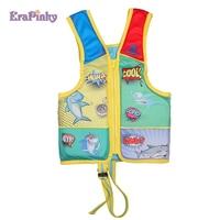Erapinky Cartoon Children Life Vest Swim Trainer Baby Girls Boys Life Jacket Pool Float Kids Buoyancy Swim Sport Safety Strap