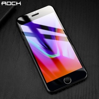 3D Curved Full Screen Protector For IPhone 8 8 Plus ROCK 9H 0 26MM Full Tempered