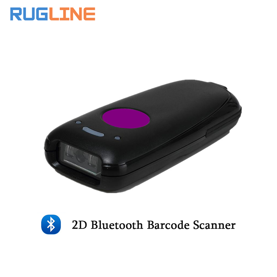 Mini Pocket Portable Wireless 2D Barcode Scanner USB Bluetooth V4.0 QR Bar code Reader For Android IOS Windows