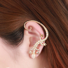 Hot 1 Pc Women Lady Girl Fashion Elegant Charming Lizard Design Ear Cuff Earrings Jewelry Gift