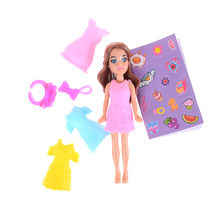 Dolls lol Playhouse Girl Magic Egg Ball Doll Toy Beautiful Dress Up Costume Role Play Figure Toys For Girl Child Gift(China)