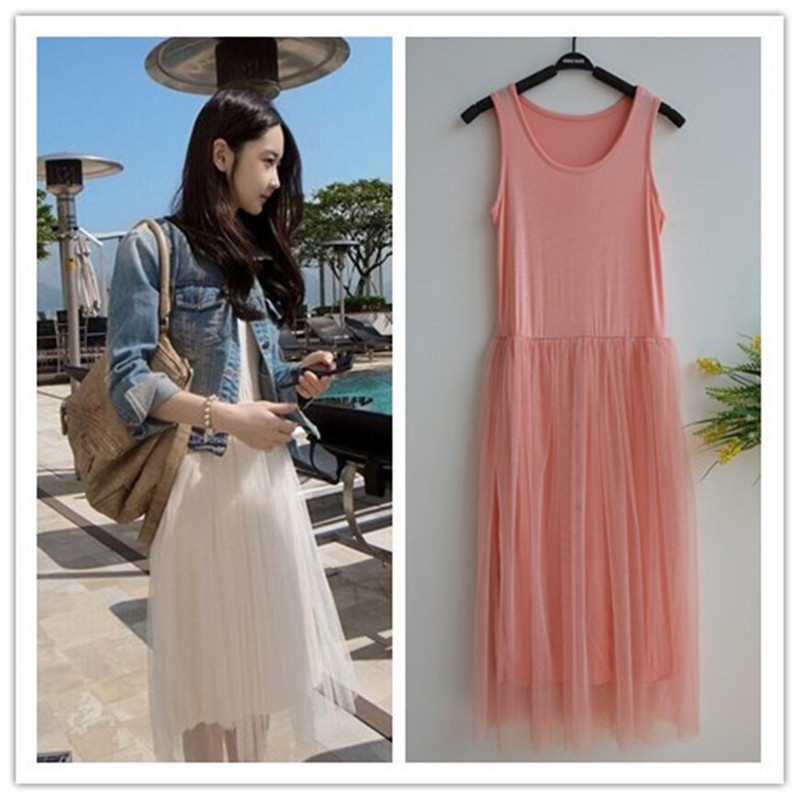 Maxi Long Tulle Dress