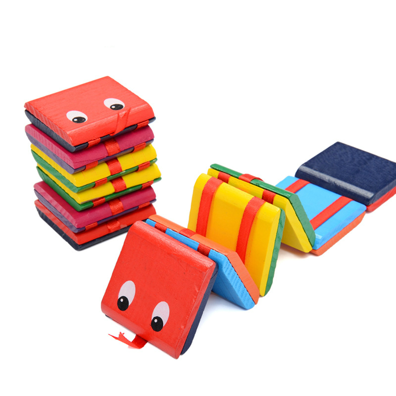 Fun Eyes Creative Snakes Flip Board Magic Book Colorful Jigsaw Puzzles Intelligence Early Education Toys For Children Baby