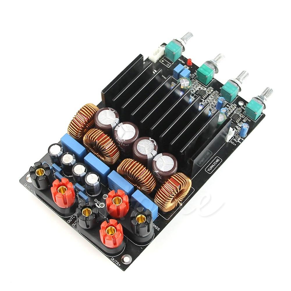 TAS5630 2.1 classe D 300W + 150W + 150W tonalité ajuster amplificateur terminé carte assembler carte module raffiné