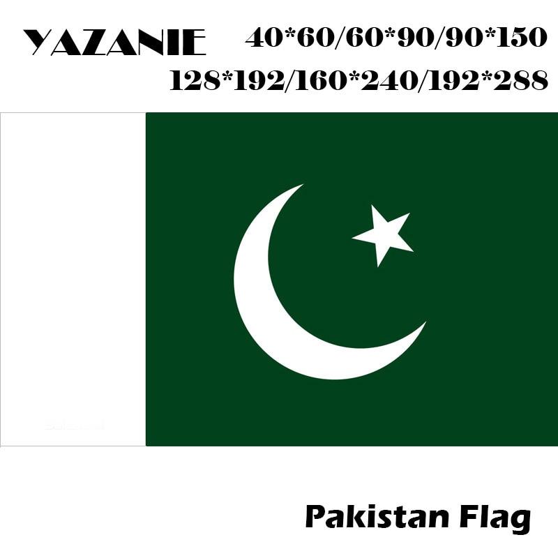 Bazaar 5*3 ft Pakistani Flag Pakistan National Flag Colored Banners