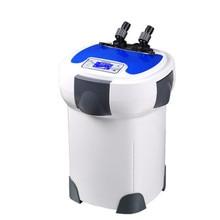 1200-3000L/h SUNSUN HW-3000 ЖК-дисплей Дисплей 4-этап Внешний канистра фильтр с 9 Вт УФ-стерилизатор для аквариума регулируемый