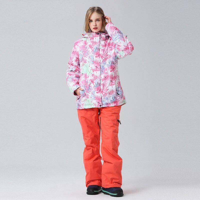 Équipement de sport de plein air divertissement vêtements de sport accessoires snowboard costume coupe-vent imperméable garder au chaud respirant - 3