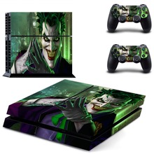 Joker PS 4  Sticker PS4 Skin for Sony PS4 PlayStation 4 and 2 controller skins