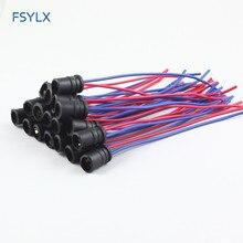 Fsylx LED T10 разъем T15 501 T10 держатель лампы Адаптеры кабель гнездовой разъем автомобиля T10 W5W ширина сбоку маркер свет T10 разъем