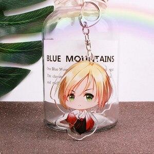 Брелок для ключей, японский мультяшный рисунок, брелок для ключей в стиле аниме YURI on ICE Victor Yuri Katsuki, автомобильные аксессуары